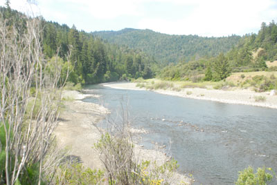 South Fork Eel River, May 2008