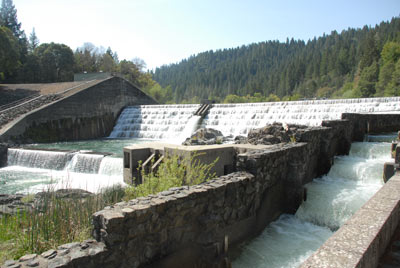 Cape Horn Dam at Van Arsdale Reservoir, May 2008